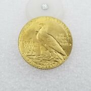 In God We Trust Liberty America Usa Indian Head 1909 Gold Plated Coins Souvenir