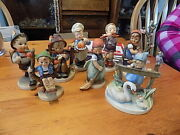Hummels, 8 Various Figurines, Great Condition's.