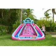 Little Tikes 650451c Lol Surprise Inflatable River Race Water Slide With Blower