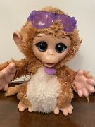 """Hasbro Fur Real Friends - Baby Cuddles - 8"""" My Giggly Monkey"""