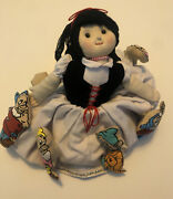 Snow White Dwarf And Witch With Red Apple Topsy Turvy Cloth Flip Doll 10