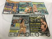 Vtg Easyriders Lot Of 5 From Motorcycle Magazines 2009 2010 2011