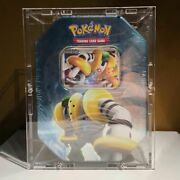 Clear Acrylic Case Uv Resistant For Tinbox - Pokemon Tins Pokebox Preorder