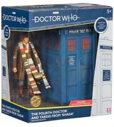 Fourth Doctor And Tardis From Shada