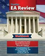 Passkey Ea Review Workbook Six Complete Enrolled Agent Practice Ex - Very Good