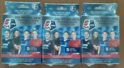 3 2021 Official Nwsl Trading Cards Premier Edition Hanger Box - 75 Total Cards