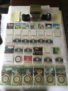 Vintage View-master Lot 2 Viewers, 66 Reels Light Attachment