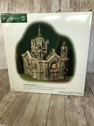 Department 56 Christmas In The City Cathedral Of St. Paul Patina Dome Ed W/ Box