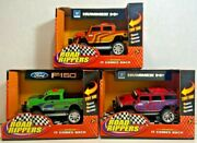 Lot Of 3 Road Rippers 33041 2006 Ford F-150 And Gm Hummer H2 Motorized Toy Car