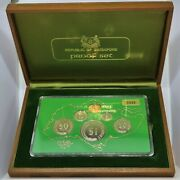 Singapore 1976 Proof Set 6 Coins And Original Packaging Only 3500 Sets Issued