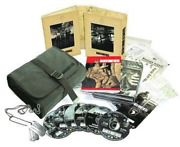 Band Of Brothers Military Edition Box Set Bag, Dog Tags, Maps, Swiss Army, 6 Dvd