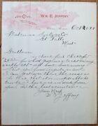 Choteau Mt 1899 Letterhead And039the Cluband039 Wine Cigars And Whisky/whiskey - Montana