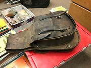 Vintage Leather Motorcycle Saddle Bags Throw Over Pannier Horse