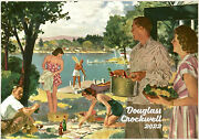 2022 Wall Calendar 12pgfamily Life Vintage Beer Ads By Douglas Crockwell M3038