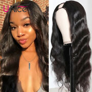 Unice Hair Indian U Part Body Wave Human Hair Wigs 150 Density Non Lace Wig Us