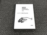Sperry New Holland 114 Pivot Tongue Windrower Shop Service Repair Manual