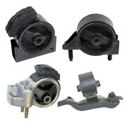 K0446 Engineandtrans Mount 4pc For Toyota Corolla 1.6l 2wd 1990-1992 Auto 3 Speed