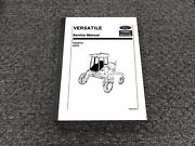 Ford New Holland Versatile 4400 Swather Shop Service Repair Manual
