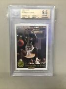 1992 Classic Gold 1 Shaquille O'neal Rc /8500 Bgs 9.5 Low Pop Rookie Card Lsu