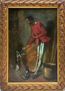 Painting Antique Hyacinth Lepesqueur Active Between 1870 And 1882 - The