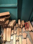Thomas The Train Wooden Trains/tracks/accesories Lot As Is