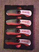 Snap-on Lw204 4piece Brake And Fuel Line Wrench Set.free Shipping