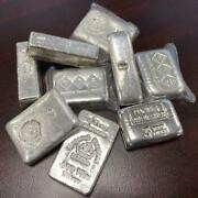 3oz .999 Hand Poured Silver Bars -various Designs-