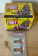 Kylian Mbappe Rc Rookie Sticker Panini 2016-17 Sealed Box Psa 10 Sold Out