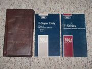 1994 Ford Super Duty Class A Motorhome Chassis Owner Manual User Guide Set