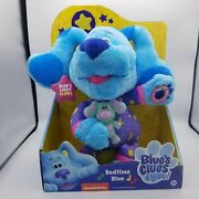 Blues Clues And You Bedtime Blue 13and039and039 Plush Nickelodeon Just Play New 2020 Toy