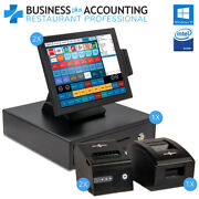 Bpa All-in-one Restaurant Pos System - 2 Stations