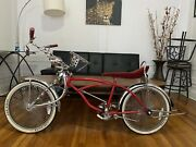 Red Original Lowrider Bike All Lowrider Accessories - Local Pick Up Only