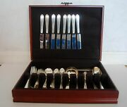 1939 Rare Windermere Simpson Hall Miller And Co.sterling Silver Set Of 8 Monogr