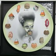 Mab Graves Just One Bite The Bride Halloween Collectible Art Plate
