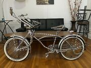 Chromed Old School Original Lowrider Bike - Local Pick Up Only