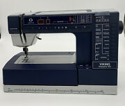 Husqvarna Viking 990s Computerized Embroidery Sewing Machine For Parts/repair