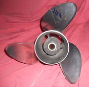 Omc Viper 14 3/4 X 19 Stainless Steel Propeller For Volvo Sx And Cobra Sx 223-16