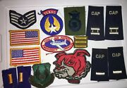 Lot Of 15 Military Patches Embroidered Badges