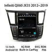 Car Multimedia Player Stereo Gps Dvd Radio Android Screen For Infiniti Qx60 Jx35