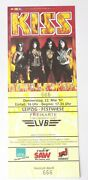 Kiss Band Full Ticket Stub May22 1997 Alive Reunion Concert Tour Leipzig Germany