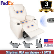 Massage Chair Full Body Luxury Electric Power Lift Recliner Leisure Soft Sofa Us