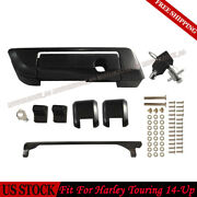 Black Pack Trunk Lids Latches Hinge For Harley Tour Pak Davidson Touring And03914-and03921