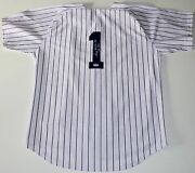 George Steinbrenner Yankees Signed The Boss Home Pinstripe Jersey Psa Coa