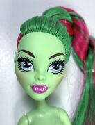 Monster High Casketball Champ Venus Mcflytrap Nude Doll Only