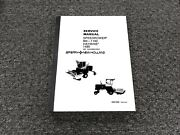 Sperry New Holland 910 1100 Speedrower 90 Degree Gearbox Service Repair Manual