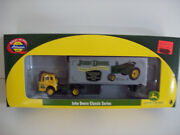 Athearn Ho John Deere Ford C And 28' Wedge Trailer