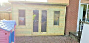 Summerhouse Shed Pent Garden Office Cabin Playhouse Lead Time 10-14 Weeks