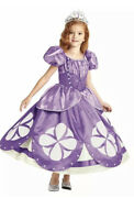 New The Ultimate Chasing Fireflies Disney Princess Sophia The First 7-8 W/ Crown