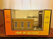 Mth Rail King Movie Theater 30-9054 O Gauge Model Railroad Building New In Box