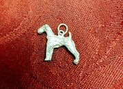 Sterling Silver Airedale Terrier Vintage Charm